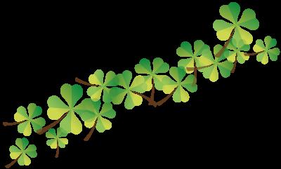 Schmuckelement Kleeblätter - Seniorenglück Haus Rünthe in Bergkamen - Auch im Alter: sicher, geborgen und zu Hause sein!