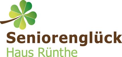 Logo - Seniorenglück Haus Rünthe in Bergkamen - Auch im Alter: sicher, geborgen und zu Hause sein!